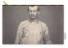 Man Holding Patent Office Book , Attributed To Oliver H. Willard Carry-all Pouch