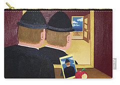 Man In The Mirror Carry-all Pouch