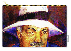 Man In The Panama Hat Carry-all Pouch