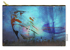 Man Is Art Carry-all Pouch
