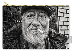 Carry-all Pouch featuring the photograph Man Of Freedom by John Williams