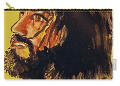 Man Of Sorrows Carry-all Pouch