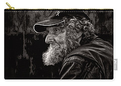 Man With A Beard Carry-all Pouch by Bob Orsillo