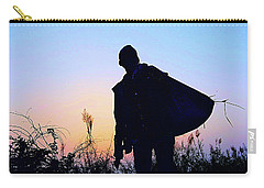 Man With Bag Carry-all Pouch