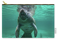 Manatee Breathing Carry-all Pouch