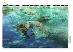 Manatee Gathering Carry-all Pouch