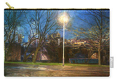 Manchester Street With Light And Trees Carry-all Pouch