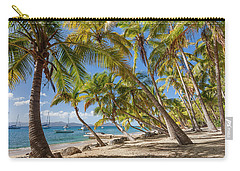 Carry-all Pouch featuring the photograph Manchioneel Bay, Cooper Island by Adam Romanowicz