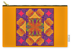 Carry-all Pouch featuring the digital art Mandala #2  by Loko Suederdiek