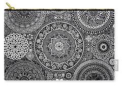 Mandala Bouquet Carry-all Pouch