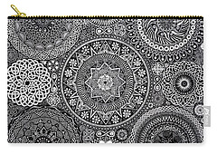 Mandala Bouquet Carry-all Pouch