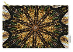 Mandala Of Autumn Trees. Carry-all Pouch