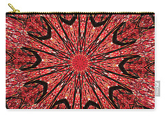 Mandala Of Autumn Woods Carry-all Pouch