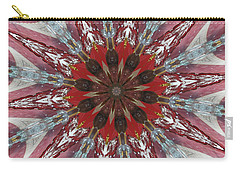 Mandala Of Glass Carry-all Pouch