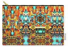 Mandala Of The Divine Radiance Of Pristine Presence Carry-all Pouch