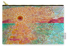 Mandala Sets Over The Dunes Carry-all Pouch