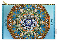 Mandala Shalom Carry-all Pouch