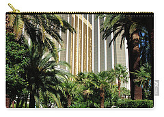 Carry-all Pouch featuring the photograph Mandalay Bay Hotel by John Schneider