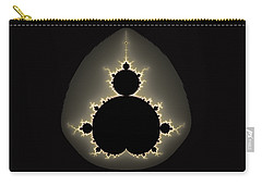 Mandelbrot Set Square Format Art Carry-all Pouch