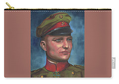 Manfred Von Richthofen The Red Baron Carry-all Pouch