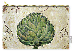 Mangia Artichoke Carry-all Pouch by Mindy Sommers
