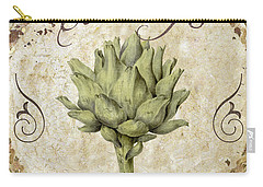 Mangia Carciofo Artichoke Carry-all Pouch by Mindy Sommers