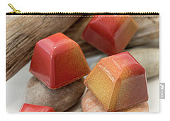 Carry-all Pouch featuring the photograph Mango Passion Fruit Explosion by Sabine Edrissi