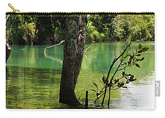 Carry-all Pouch featuring the photograph Mangrove Mystique 2 by Dianne  Connolly