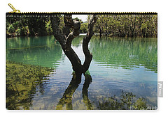 Carry-all Pouch featuring the photograph Mangrove Mystique 3 by Dianne  Connolly
