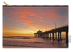 Beach Sunset Carry-all Pouches