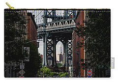 Manhattan Bridge  Carry-all Pouch by Anthony Fields