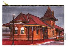 Manhattan Kansas Train Depot Carry-all Pouch