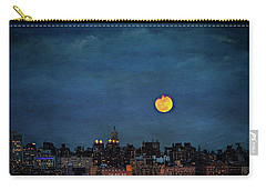 Manhattan Moonrise Carry-all Pouch by Chris Lord