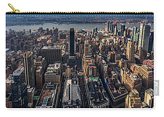 Manhattan, Ny Carry-all Pouch by Martina Thompson