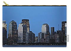 Carry-all Pouch featuring the photograph Manhattan Skyline by John Haldane