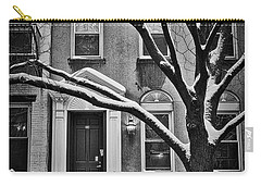 Manhattan Town House Carry-all Pouch by Joan Reese