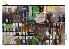 Carry-all Pouch featuring the painting Manifold by Hailey E Herrera