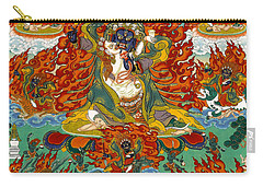 Maning Mahakala With Retinue Carry-all Pouch by Sergey Noskov
