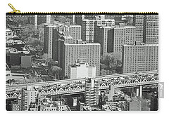 Mannhattan Bridge No. 46-1 Carry-all Pouch by Sandy Taylor