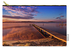 Carry-all Pouch featuring the photograph Manning Point 666 by Kevin Chippindall