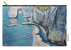 Manneport, The Cliffs At Etretat Carry-all Pouch