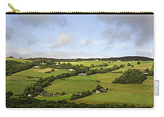 Carry-all Pouch featuring the photograph Manors On A Hillside by Christi Kraft