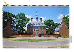 Carry-all Pouch featuring the photograph Mansion by Eric Liller