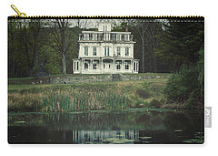 Mansion Reflected At Waterloo Carry-all Pouch