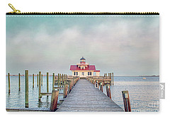 Carry-all Pouch featuring the photograph Manteo Lighthouse by Marion Johnson