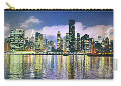 Manthattan Reflection Carry-all Pouch by Steve Archbold