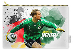 Manuel Neuer Carry-all Pouch by Semih Yurdabak