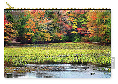 Many Colors Of Autumn Carry-all Pouch by Mikki Cucuzzo
