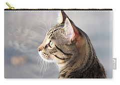 Carry-all Pouch featuring the photograph Many Faces Of Monty.. by Jolanta Anna Karolska