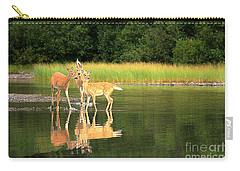 Carry-all Pouch featuring the photograph Fishercap Family Gathering by Adam Jewell